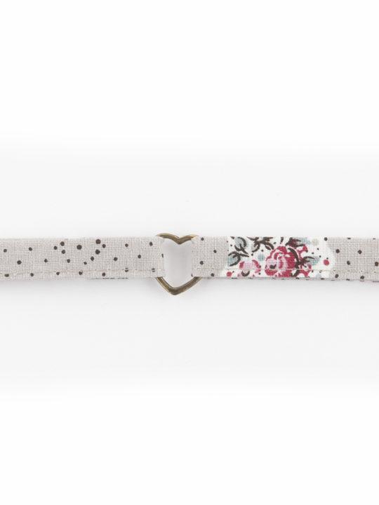 bracelet tissu provençal et laiton