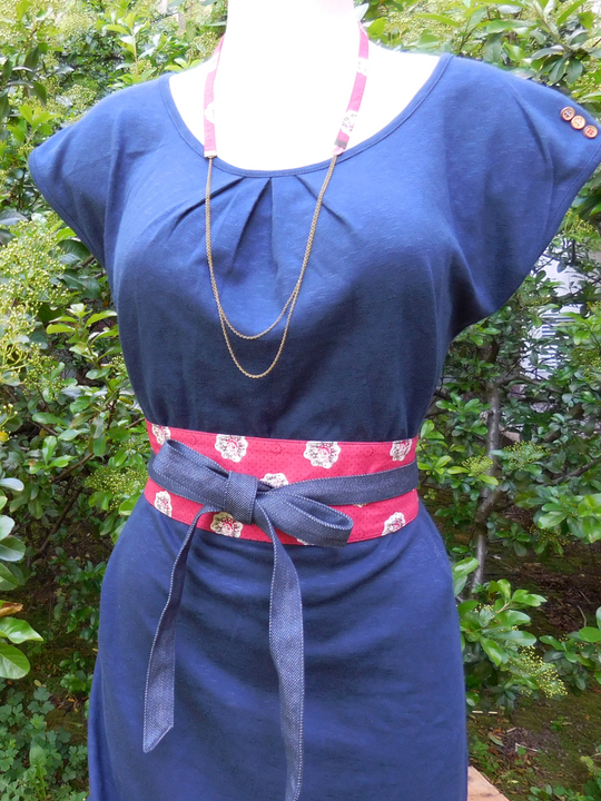 ceinture femme textile liberty