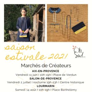 marchés de créateurs en Provence