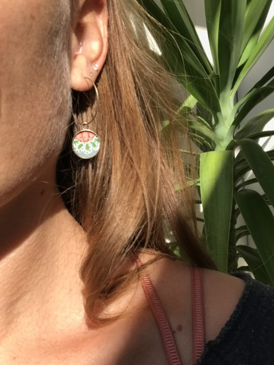 boucles d'oreilles créoles made in france