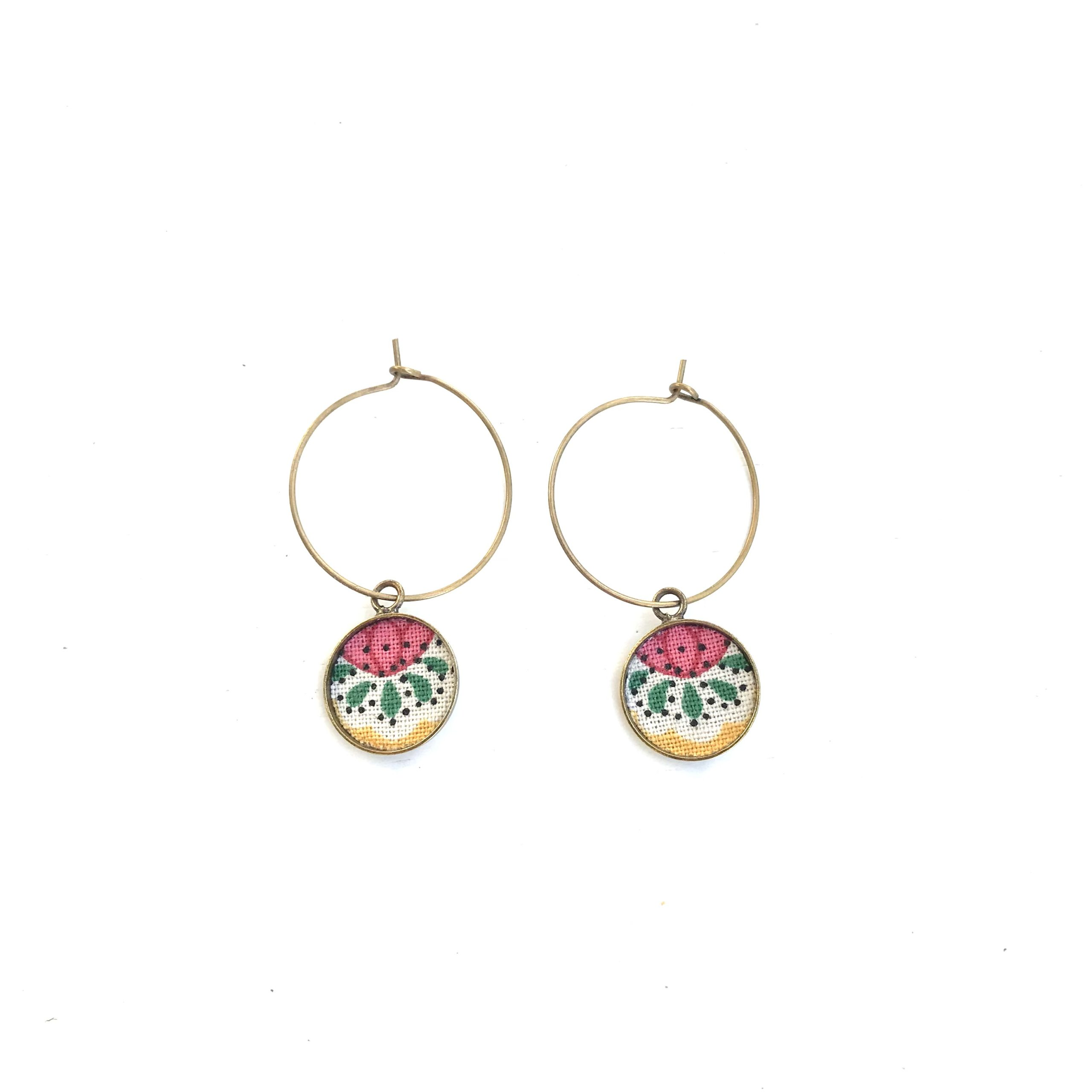 boucles d'oreilles liberty made in france