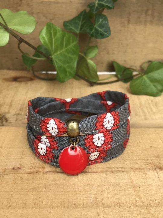 Bracelet textile, bracelet liberty