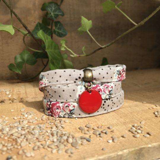 Bracelet tissu, bracelet liberty